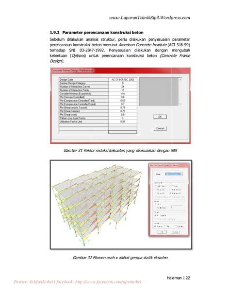 Analisis Struktur Dengan Program Matlab Analisis Struktur Gedung Bertingkat Rendah Dengan Software