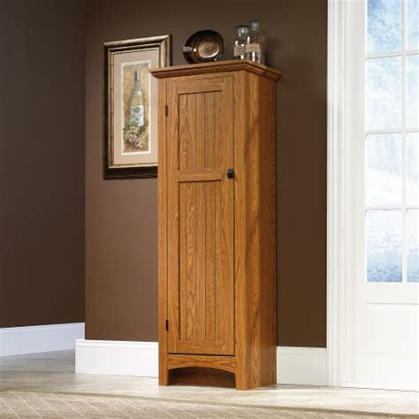 Oak Pantry Cabinet by Storage Cabinet Pantry Oak Finish