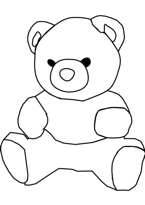 drawing images for kids bear drawing for kids clipart best
