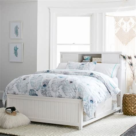 beadboard storage bed beadboard storage bed 2 0 pbteen