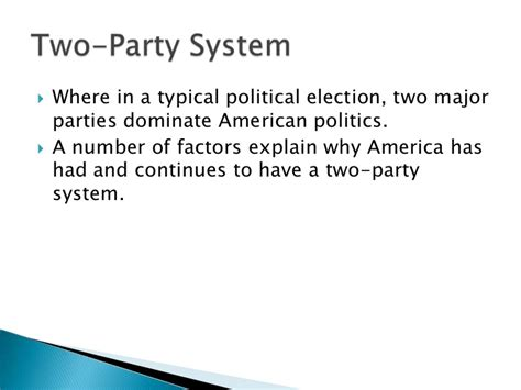 chapter 5 section 1 parties and what they do chapter 5 political parties