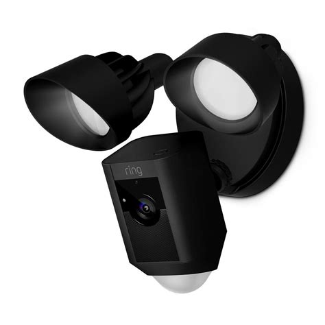 Home Depot Lawn Decorations ring outdoor wi fi cam with motion activated floodlight