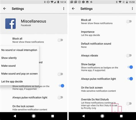 android notification settings one month with android o should you install it and everything else you need to techook