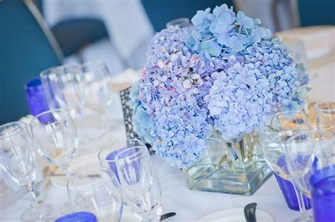 blue hydrangea centerpiece blue hydrangea centerpiece volunteer brunch