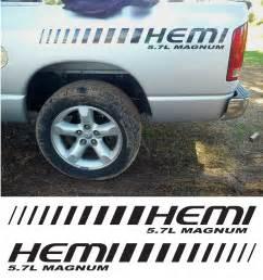 Dodge Ram Decals And Stickers 2 Dodge Hemi 5 7 Magnum Ram Truck Decals Stickers