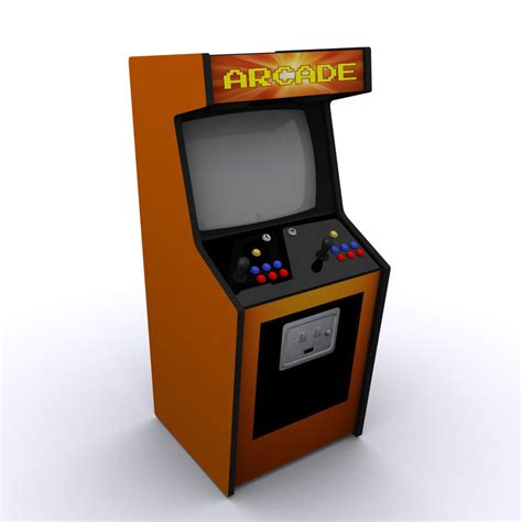 Arcade Cabinet Icon by 3ds Max Arcade Machine