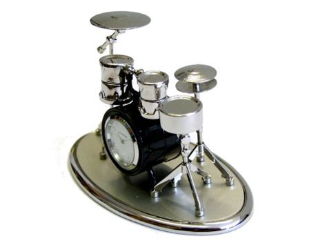 Desk Drum Kit by Clocks With A Theme Drum Kit And Piano Clocks