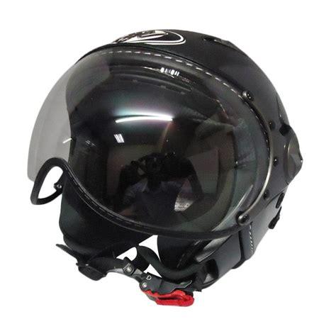 Helm Kyt Elsico Solid jual kyt elsico solid gun metal helm half grey harga kualitas terjamin