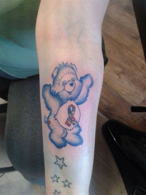 tattoo care the first 24 hours autism care bear tattoo 80s toy tattoos pinterest