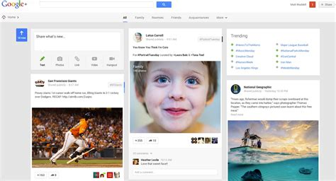 google design cards google redesigns its stream to include multi column
