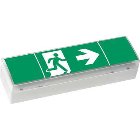 Accu Lu Emergency style variant 4 exit or sl single sided 17 m