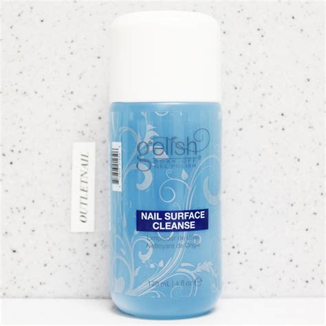 Nail Detox by Gelish Harmony Gel Cleanser Nail Surface Cleanse