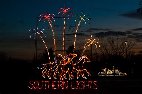 kentucky horse park christmas lights southern lights celebration courtesy of ky horse park