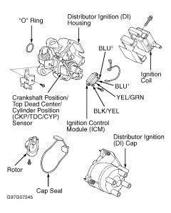1997 honda civic ignition problems no spark electrical