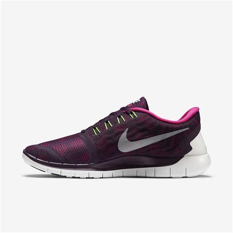womens nike free 5 0 print running shoes nike womens free 5 0 print running shoes purple pink