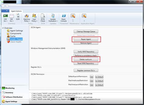reset software center sccm sccm task sequence remaining in installing status dbsnet