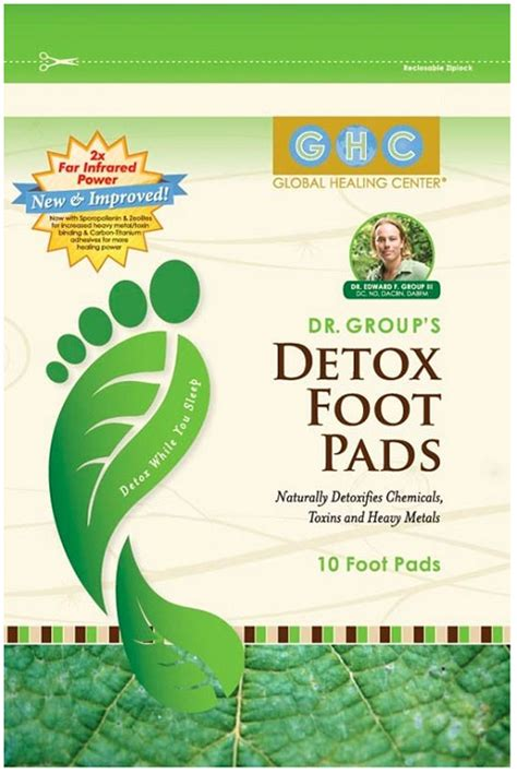 Organic Foot Detox by Dr S Organic Detox Foot Pads Vital Vibe Source