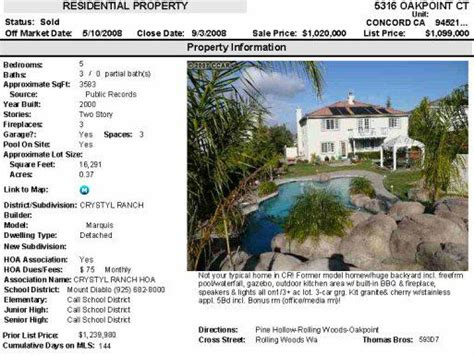houses for sale in concord ca concord ca real estate a real estate report for october 20 2008 homes for sale in