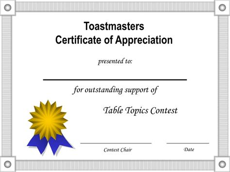 certificate of appreciation template powerpoint certificate of appreciation template ppt driverlayer