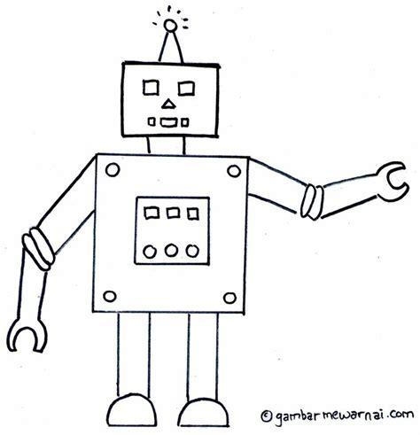 anime rumah hantu gambar mewarnai robot pulau robots