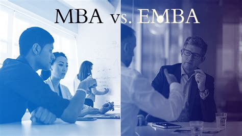 Vs Mba by Emba Vs Mba What S The Difference Hult