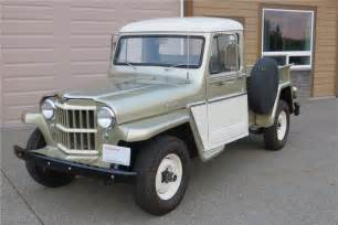 Willys Jeep Truck 1962 Willys Jeep 181424
