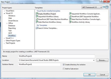 workflow sharepoint 2003 visual studio 2008 creating sharepoint workflow missing