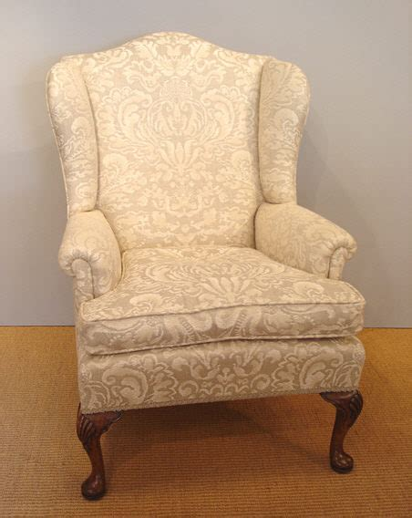 old armchair antique wing armchair late victorian walnut cabriole leg