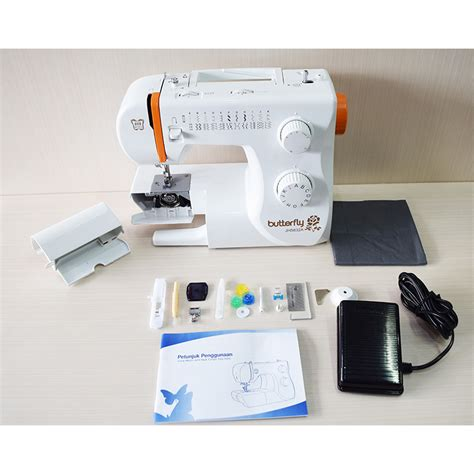 Mesin Jahit Portable Butterfly harga mesin jahit butterfly jh5832a portable id