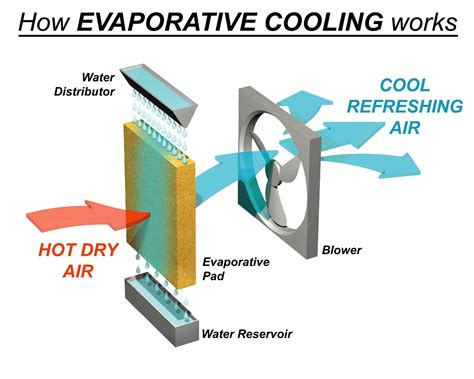 how do tower fans work d i y inspired evaporative cooler design for remote