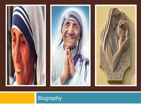 mother teresa biography powerpoint mother teresa of calcutta