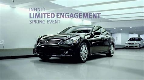 infiniti  awd commercial tv commercial limited engagement spring event ispottv