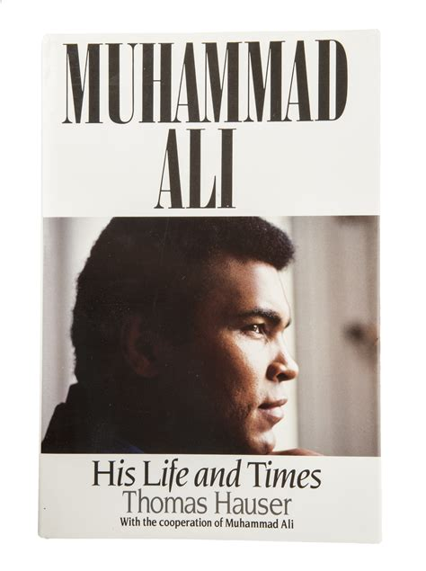 biography of muhammad ali book lot detail muhammad ali quot his life and times quot signed book