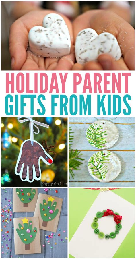 holiday parent gifts from kids kreative in life