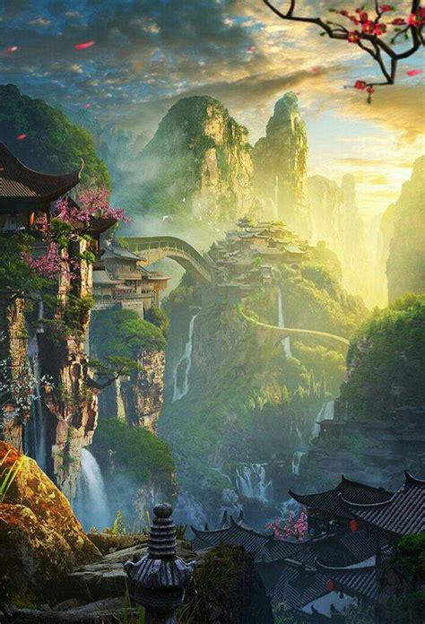 imagenes de paisajes anime paisajes anime anime amino