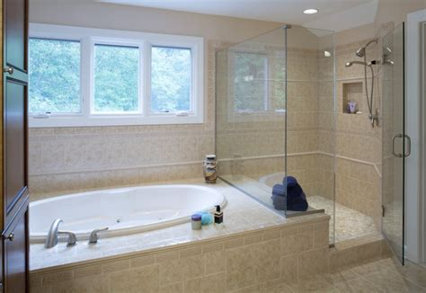walk in bath shower combo bathroom remodel photos owings brothers contracting