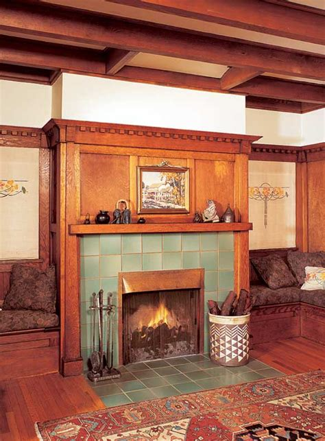 bungalow fireplace the history of the fireplace old house online old