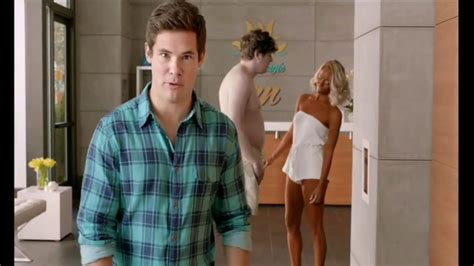 allstate commercial actress silence allstate tv commercial tanning salon featuring adam