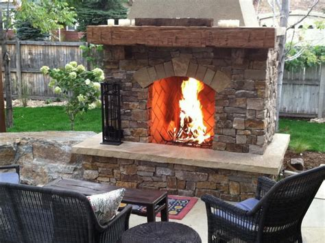Outdoor Fireplace Dallas by Outdoor Fireplaces Pits Roofing Remodeling Of Dallas