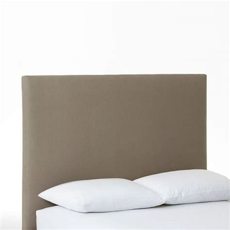 simple headboards simple upholstered headboard west elm
