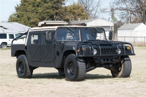 automobile air conditioning service 2000 hummer h1 on board diagnostic system 1987 hummer humvee h1 military diesel convertible has title and air conditioning for sale