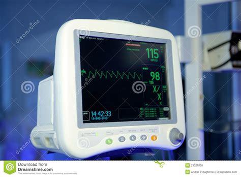 Stethoscope Light Cardiac Monitor Royalty Free Stock Photos Image 23027808