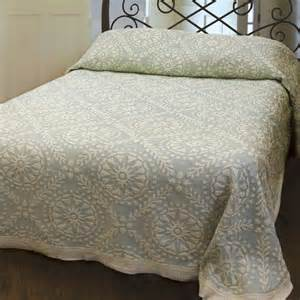 Cotton Quilts And Bedspreads Americana Cotton Woven Matelasse Bedspread Bedding