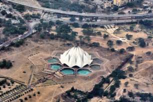 Top View Of Lotus Temple 10 Most Temples In Asia Touropia Travel Experts