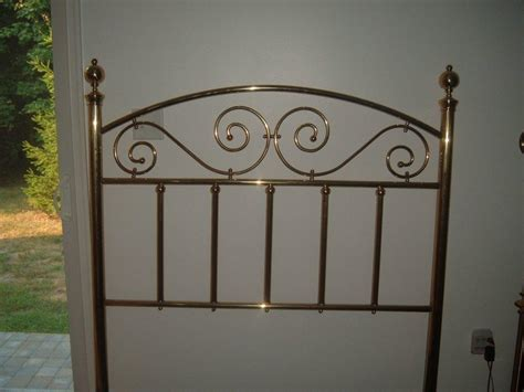 brass bed headboards jb ross brass bed for sale antiques com classifieds