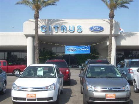 Kia Dealers In Ontario Citrus Motors Ford Kia Ontario Ca 91761 Car Dealership