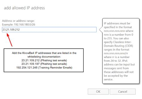 Office 365 Mail Ip Addresses Whitelisting By Ip Address In Exchange 2013 2016 Or