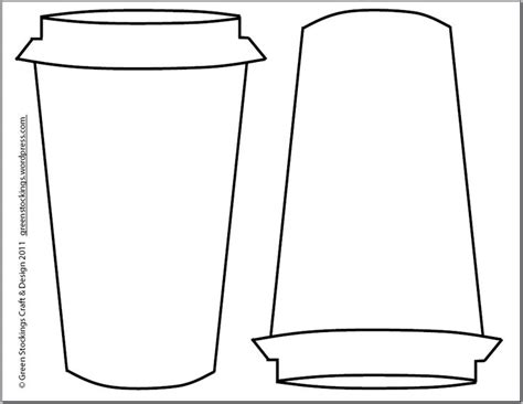 coffee cup template 1000 images about coloring coffee on