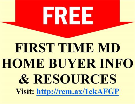 time home buyer programs in maryland how to buy a