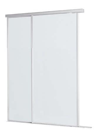 Amenagement De Placard 2823 pack portes coulissantes blanche en ppsm h 250 cm l 153